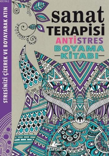 Sanat Terapisi; Antistres Boyama Kitabı