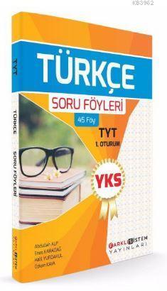 YKS 1. Oturum TYT Türkçe Soru Föyleri (45 Föy)