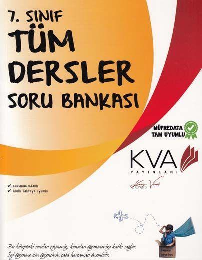 KVA Yayınları 7. Sınıf Tüm Dersler Soru Bankası