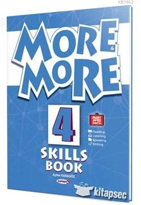 Kurmay Yayınevi 8.Sınıf More & More Englısh Skılls Book  4