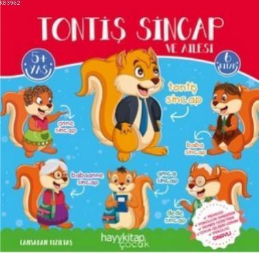 Tontiş Sincap ve Ailesi 6'lı Öykü Seti