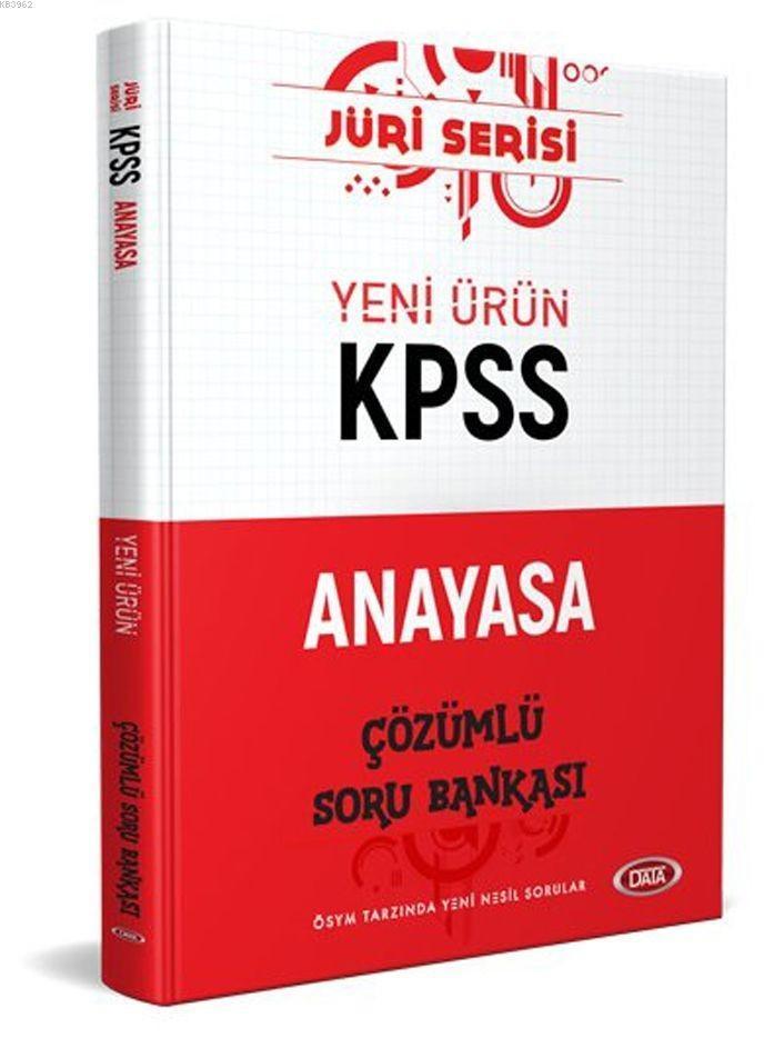 Data Yayınları 2020 KPSS Anayasa Jüri Serisi Soru Bankası
