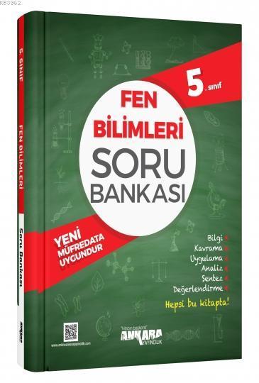 Ankara Yayınları 5. Sınıf Fen Bilimleri Soru Bankası Ankara