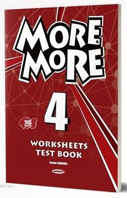Kurmay - 4. Sınıf More & More Englısh Worksheets & Test Book