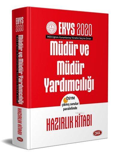 Data Yayınları 2020 EKYS MEB Müdür ve Müdür Yardımcılığı Hazırlık Kitabı
