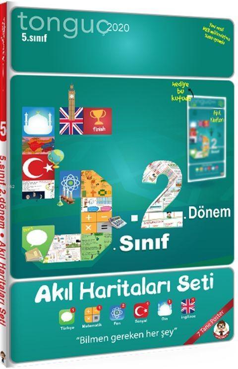 Tonguç Yayınları 5. Sınıf 2. Dönem Akıl Haritaları Seti Tonguç