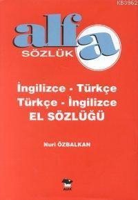 İngilizce - Türkçe / Türkçe - İngilizce El Sözlüğü