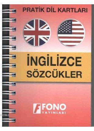 Pratik Dil Kartları - İngilizce Sözcükler