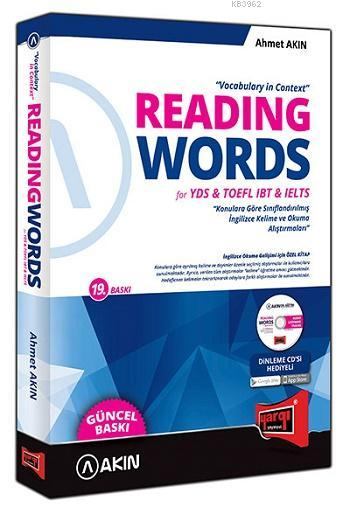 Reading Words For TOEFL İBT İELTS Vocabulary in Context