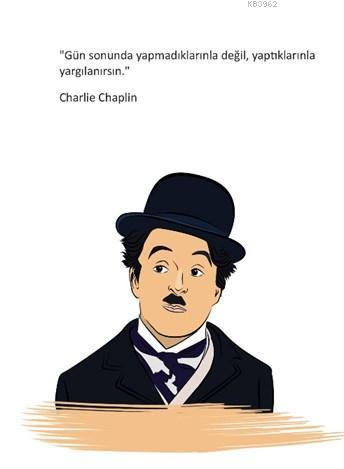 Charlie Chaplin Ciltli Defter