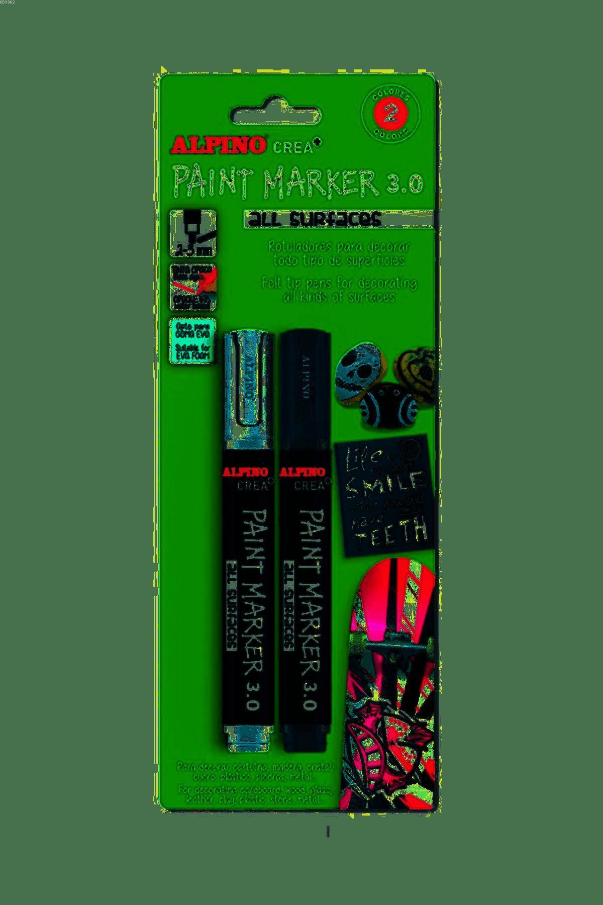 Alpino AR-0168 Crea Paint Marker 2`li