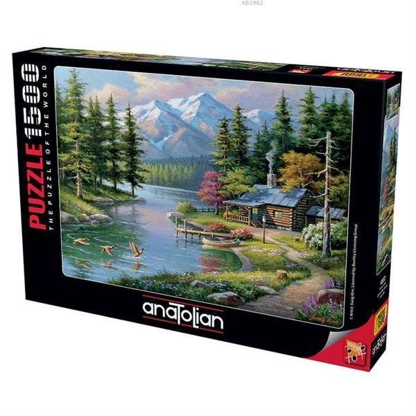 Anatolian Puzzle 1500 Parça Kano Keyfi 4554
