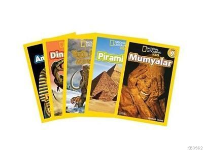 National Geographic Kids - Tarih Öncesi Mitoloji Seti 5 Kitap