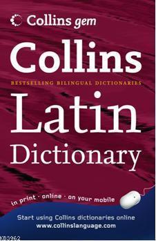 Latin Dictionary (Cep Boy) - İkinci El