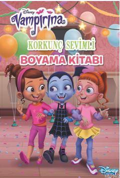 Korkunc Sevimli Boyama Kitabi Disney Vampirina Kolektif