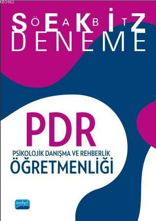2018 ÖABT PDR Psikolojik Danışma ve Rehberlik Öğretmenliği 8 Deneme