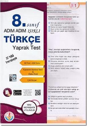 Adım Adım 8. Sınıf Türkçe Yaprak Test