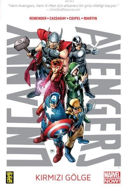 Uncanny Avengers 1. Cilt - Kırmızı Gölge