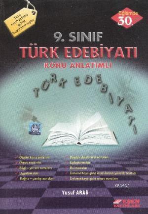 9. Sınıf Türk Edebiyati Konu Anlatımlı