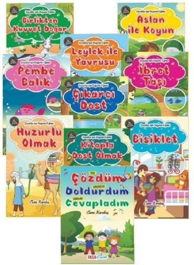 Çocuklar İçin Değerler Eğitimi Seti (10 Kitap Takım)