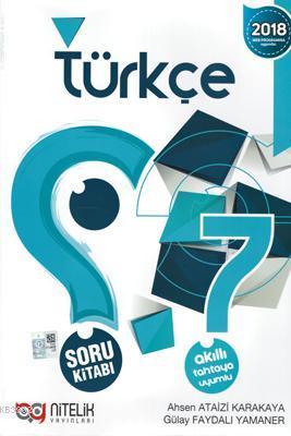 Nitelik Yayınları 7. Sınıf Türkçe Soru Kitabı Nitelik