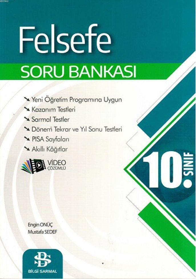 Bilgi Sarmal Yayınları 10. Sınıf Felsefe Soru Bankası Bilgi Sarmal