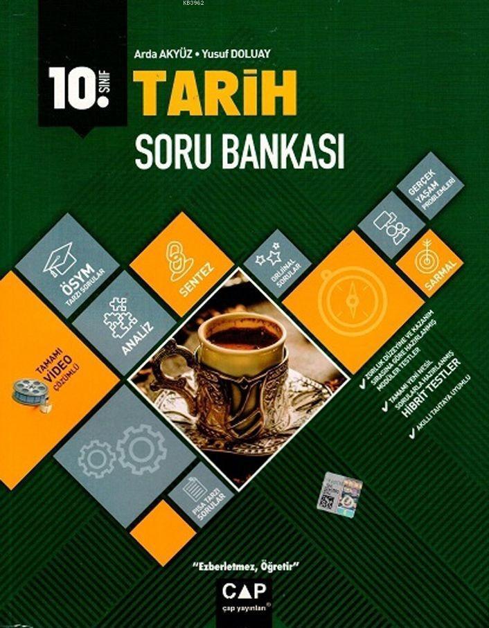 Çap Yayınları 10. Sınıf Anadolu Lisesi Tarih Soru Bankası Çap