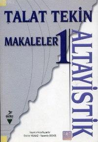 Makaleler 1; Altayistik