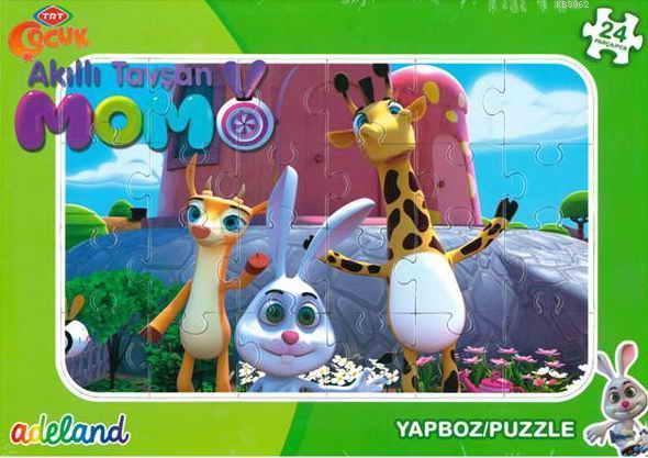 Trt Çocuk 24 Parça Akıllı Momo Puzzle 201929