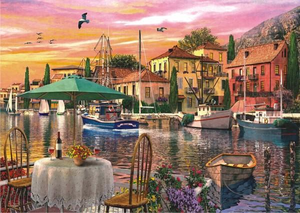 Anatolian Puzzle Limanda Günbatımı / Sunset Harbour 3000 Parça 4905