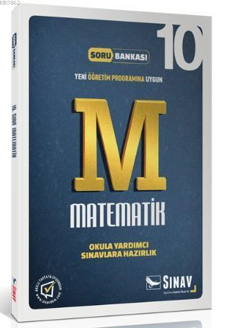 10. Sınıf Matematik Soru Bankası; Okula Yardımcı / Sınavlara Hazırlık