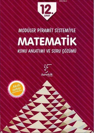 Karekök Yayınları 12. Sınıf Matematik MPS Konu Anlatımı ve Soru Çözümü Karekök