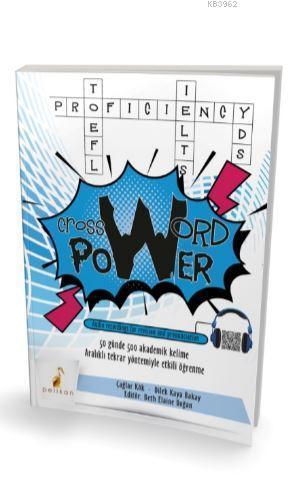 Crossword Power 50 Günde 500 Akademik Kelime (Audio Recordings for Revision and Pronunciation); Aralıklı Tekrar Yöntemiyle Etkili Öğrenme