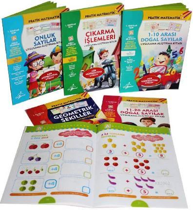 1. Sınıflar İçin Pratik Matematik Serisi 6 Kitap - Meb Müfredatına Uygun