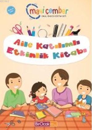 Aile Katılımlı Etkinlik Kitabı - Mavi Çember (48 Ay ve Üzeri)
