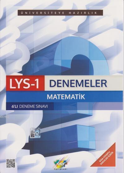 LYS 1 Denemeler Matematik 6lı Deneme Sınavı