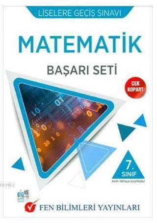 7. Sınıf Matematik LGS Başarı Seti