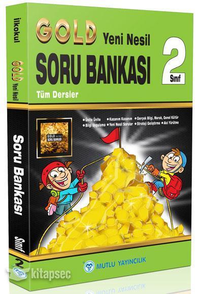 Mutlu Gold Yeni Nesil Soru Bankası 2.Sınıf