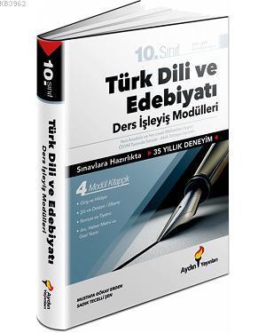 Aydın 10.Sınıf Türk Dili ve Edebiyatı Ders İşleyiş Modülleri