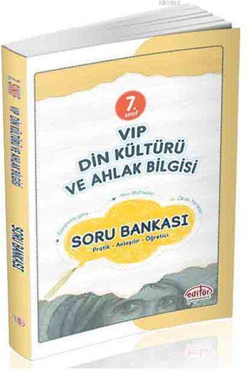 7. Sınıf VIP Din Kültürü ve Ahlak Bilgisi Soru Bankası