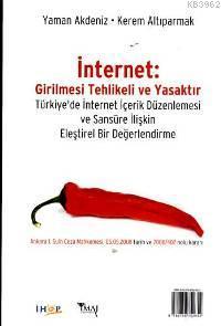 İnternet: Girilmesi Tehlikeli ve Yasaktır