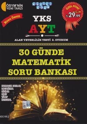 YKS AYT 30 Günde Matematik Konu Özetli Soru Bankası Karmaşık Sayılar