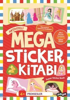 Aktiviteli Mega Sticker Kitabı; Prensesler