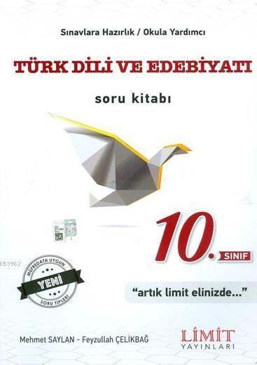 Limit Yayınları 10. Sınıf Türk Dili ve Edebiyatı Soru Kitabı Limit