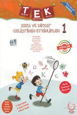 Palme Yayınları 1. Sınıf Zeka ve Dikkat Geliştiren Etkinlikler Palme