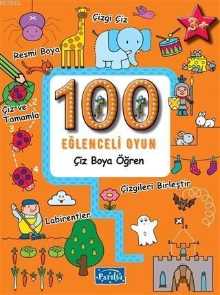 100 Eğlenceli Oyun - Çiz Boya Öğren