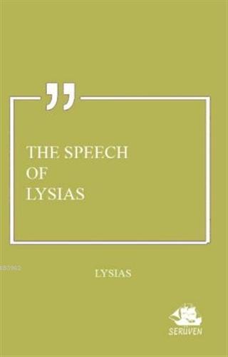 The Speech of Lysias