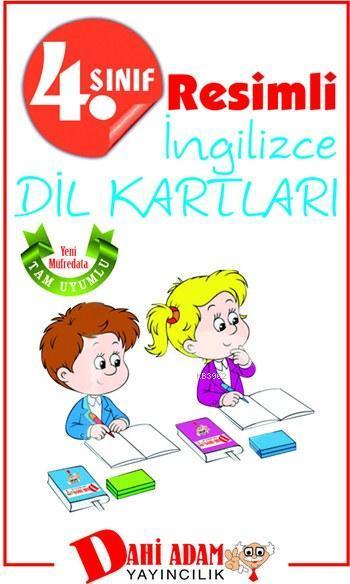 4. Sınıf Resimli İngilizce Dil Kartları