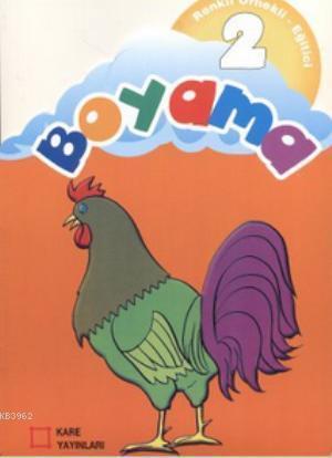 Renkli Örnekli Eğitici Boyama 2