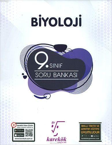 Karekök Yayınları 9. Sınıf Biyoloji Soru Bankası Karekök